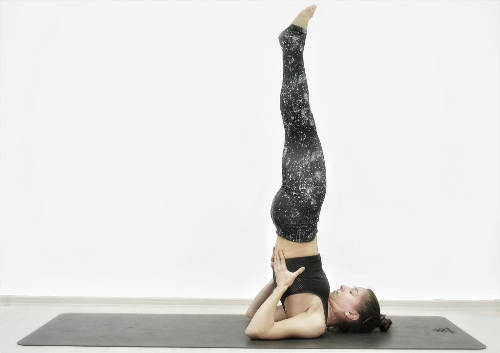 Детокс-йога для похудения, очищения, омоложения. Стойка на плечах