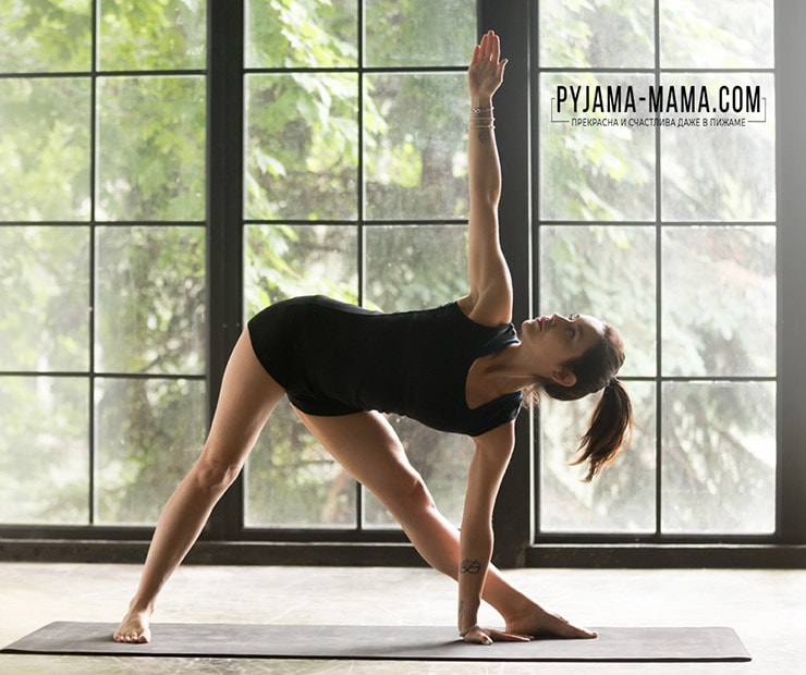 2.Йога-для-кожи.-Поза-вытянутого-треугольника-Уттхита-триконасана